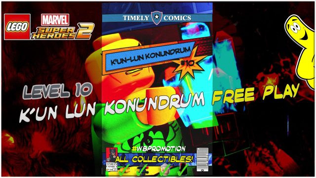 Lego Marvel Superheroes 2: Level 10 / K'un-Lun Konundrum FREE PLAY (All Collectibles) – HTG