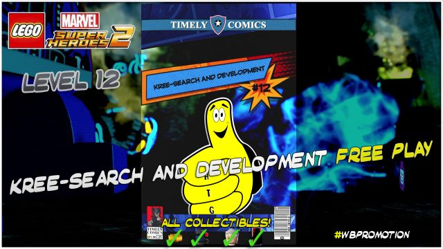 Lego Marvel Superheroes 2: Level 12 / Kree-Search and Development FREE PLAY (All Collectibles) – HTG