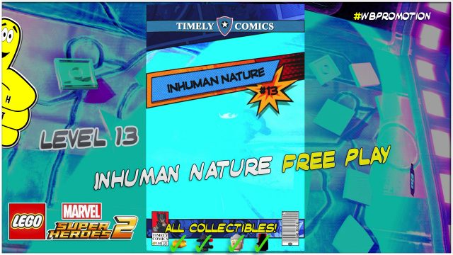 Lego Marvel Superheroes 2: Level 13 / Inhuman Nature FREE PLAY (All Collectibles) – HTG