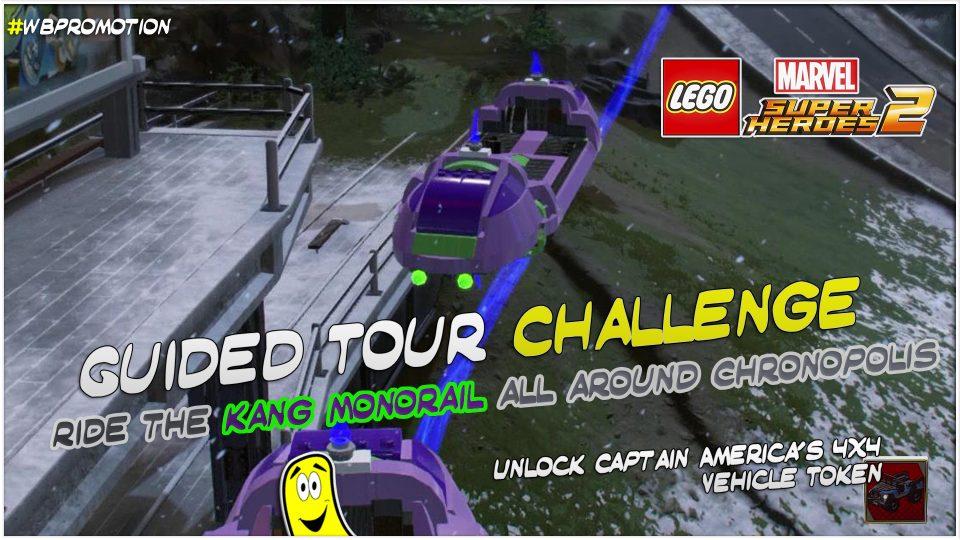 Lego Marvel Superheroes 2: Guided Tour Challenge – HTG