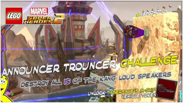 Lego Marvel Superheroes 2: Announcer Trouncer Challenge – HTG