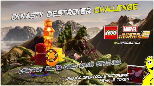 Lego Marvel Superheroes 2: Dynasty Downer Challenge – HTG