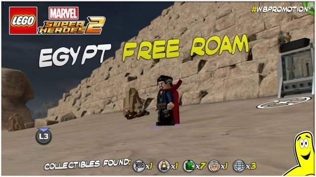 Lego Marvel Superheroes 2: Egypt FREE ROAM (All Collectibles) – HTG