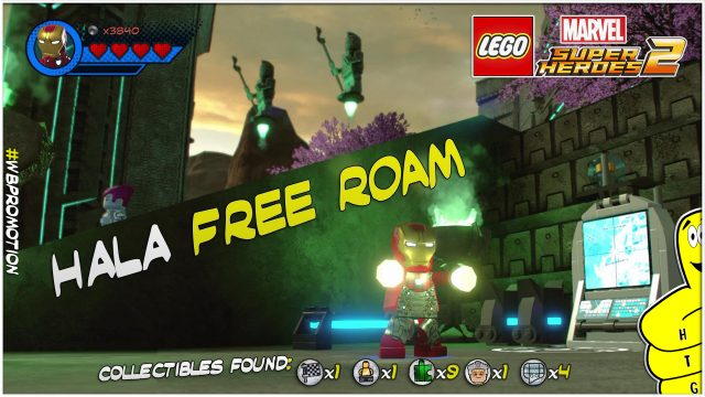 Lego Marvel Superheroes 2: Hala FREE ROAM (All Collectibles) – HTG