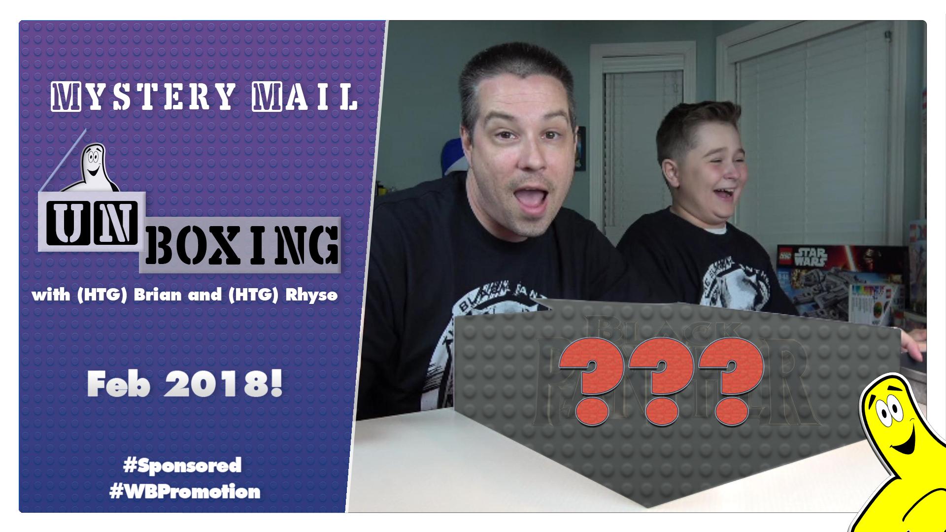 MysteryMailUnboxingLegoMarvel2BlackPantherFunMailer