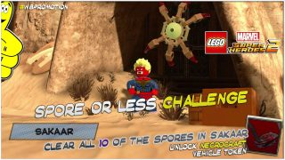 Lego Marvel Superheroes 2: Spore Or Less Challenge – HTG