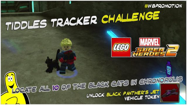 Lego Marvel Superheroes 2: Tiddles Tracker Challenge – HTG