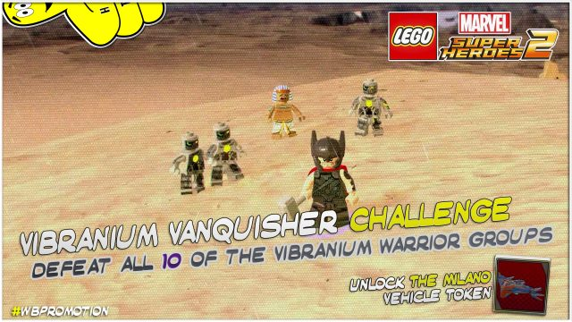 Lego Marvel Superheroes 2: Vibranium Vanquisher Challenge – HTG