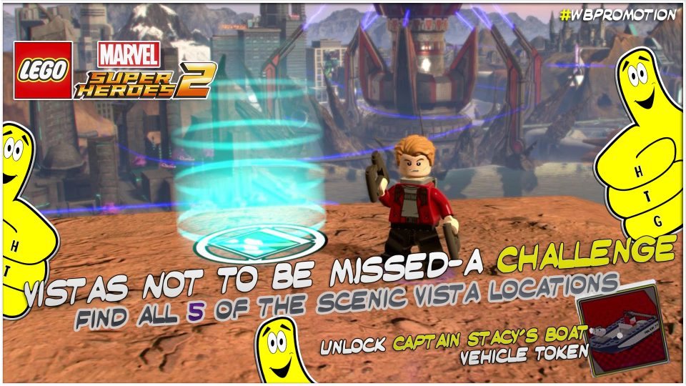 Lego Marvel Superheroes 2: Vistas Not To Be Missed-A Challenge – HTG