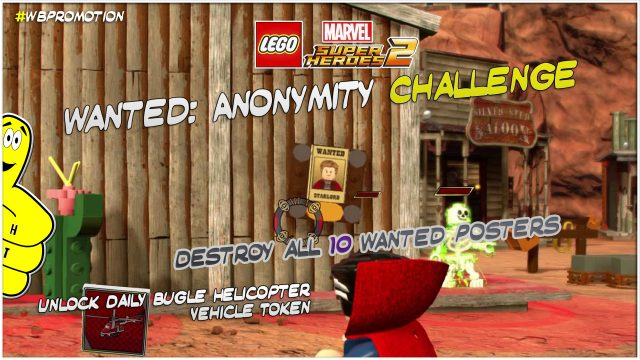 Lego Marvel Superheroes 2: Wanted Anonymity Challenge – HTG