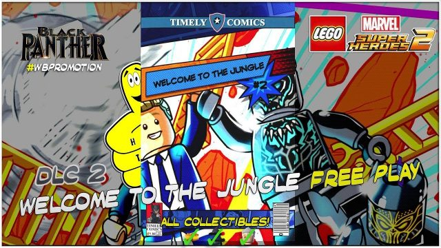 Lego Marvel Superheroes 2: Black Panther Movie DLC FREE PLAY (All Collectibles) – HTG