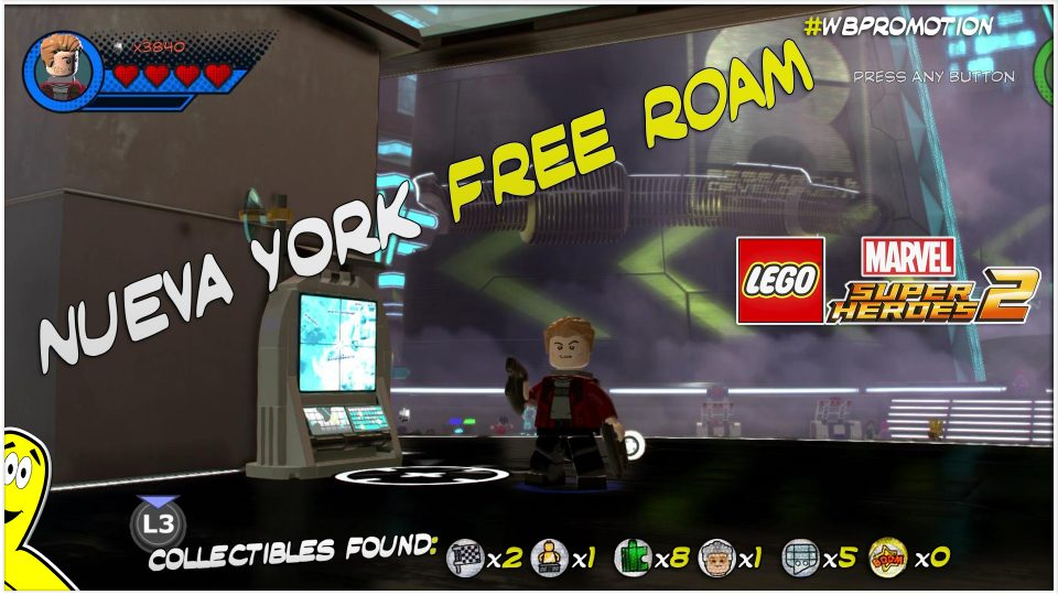 Lego Marvel Superheroes 2: Nueva York FREE ROAM (All Collectibles) – HTG