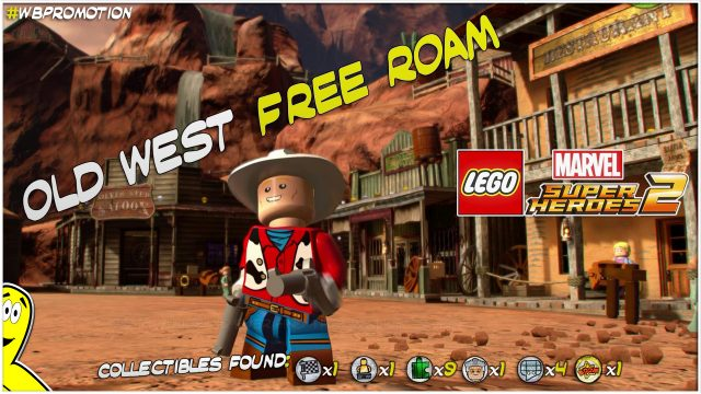 Lego Marvel Superheroes 2: Old West FREE ROAM (All Collectibles) – HTG