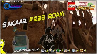 Lego Marvel Superheroes 2: Sakaar FREE ROAM (All Collectibles) – HTG