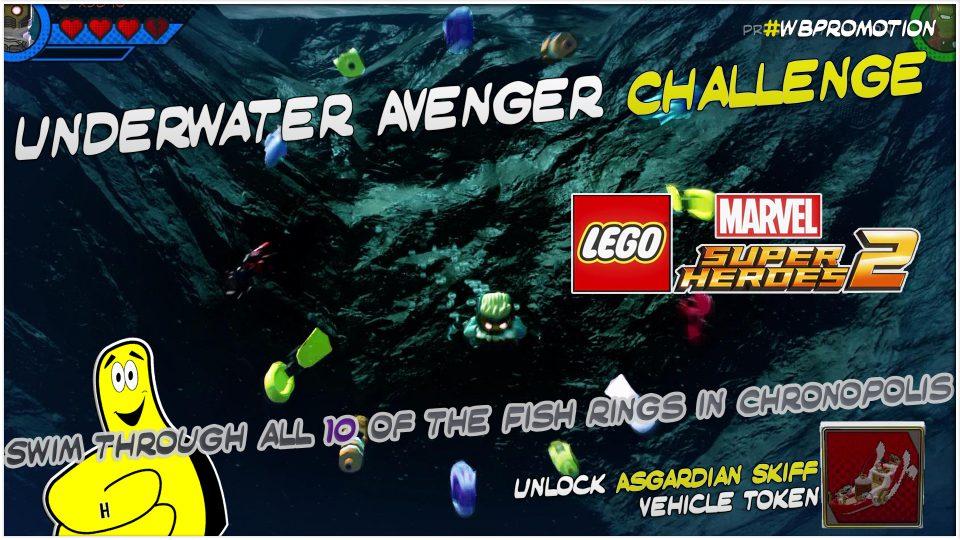 Lego Marvel Superheroes 2: Underwater Avenger Challenge – HTG