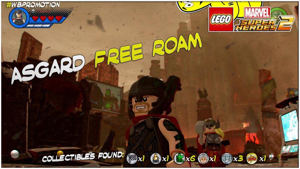 Lego Marvel Superheroes 2: Asgard FREE ROAM (All Collectibles) – HTG