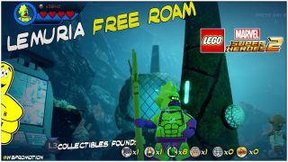 Lego Marvel Superheroes 2: Lemuria FREE ROAM (All Collectibles) – HTG
