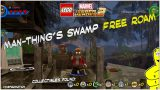 Lego Marvel Superheroes 2: Man-Thing's Swamp FREE ROAM (All Collectibles) – HTG