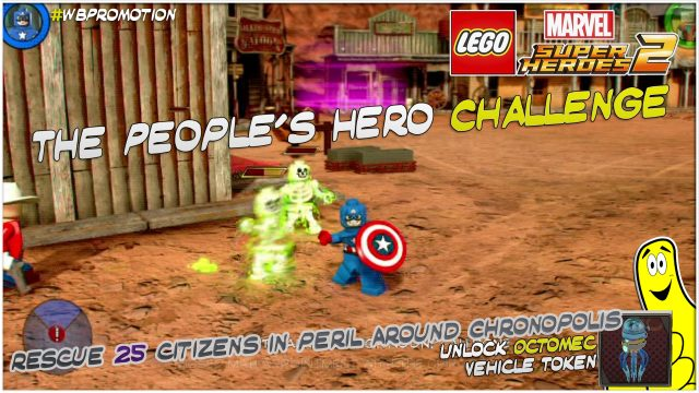 Lego Marvel Superheroes 2: The People's Hero Challenge – HTG
