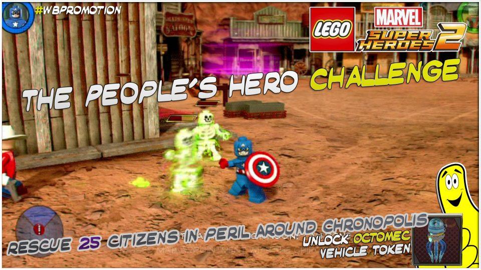Lego Marvel Superheroes 2: The People's Hero Challenge – HTG