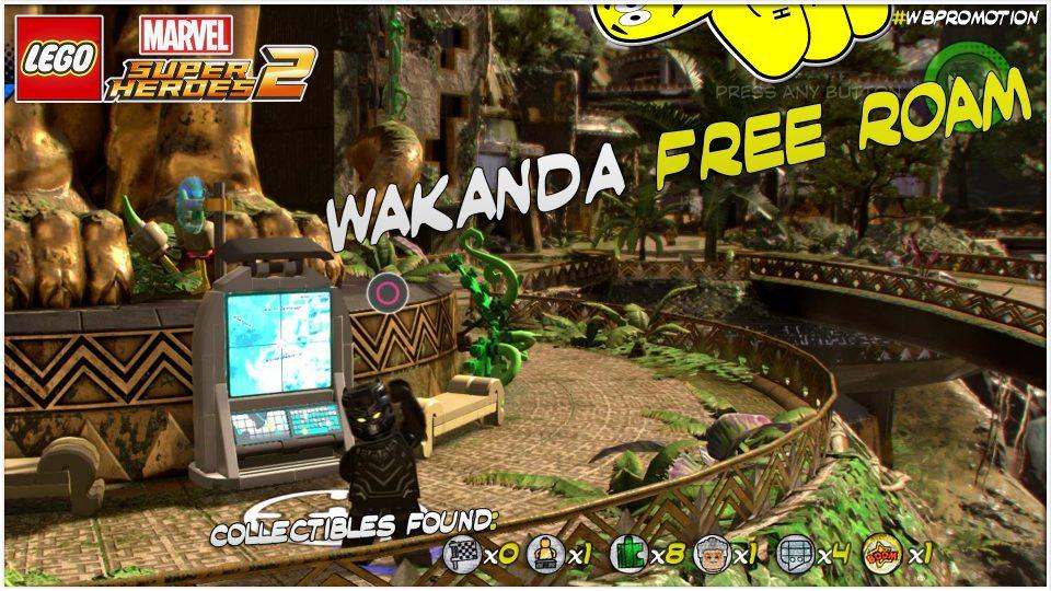 Lego Marvel Superheroes 2: Wakanda FREE ROAM (All Collectibles) – HTG