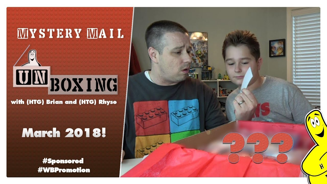 Mystery Mail Unboxing: March 2018 Mystery Mailer – HTG