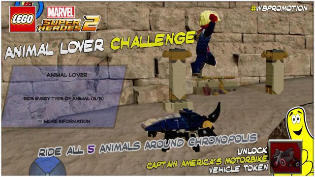 Lego Marvel Superheroes 2: Animal Lover Challenge – HTG