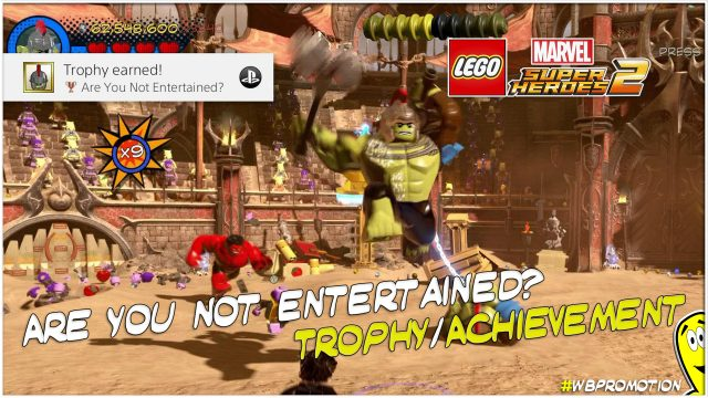 Lego Marvel Superheroes 2: Are You Not Entertained? Trophy/Achievement – HTG