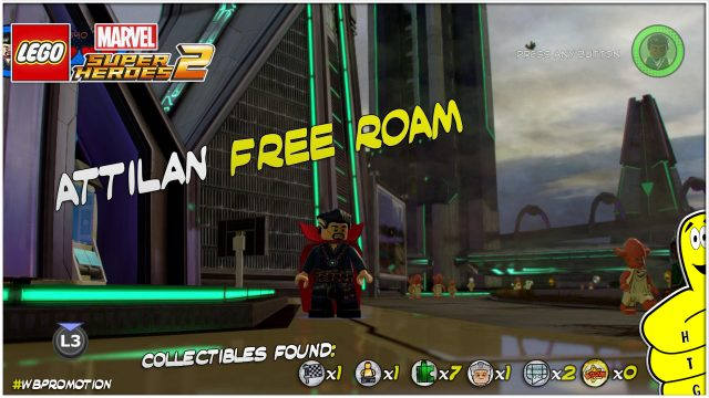 Lego Marvel Superheroes 2: Attilan FREE ROAM (All Collectibles) – HTG