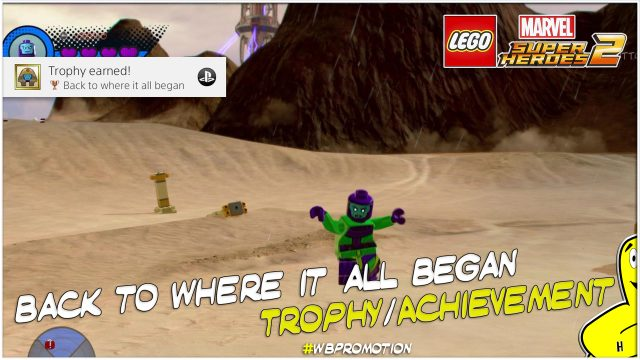 Lego Marvel Superheroes 2: Back To Where It All Began Trophy/Achievement – HTG