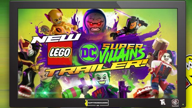 Lego DC Super-Villains: NEW Announcement Trailer!! – HTG
