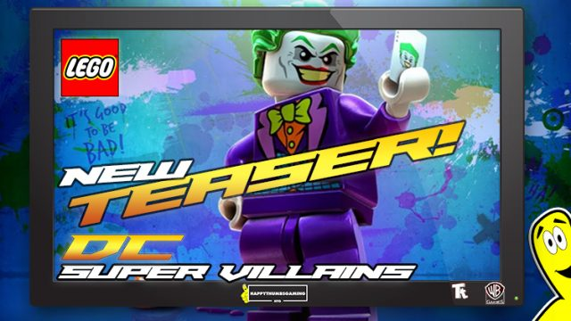Lego DC Supervillains: New Teaser Trailer – HTG