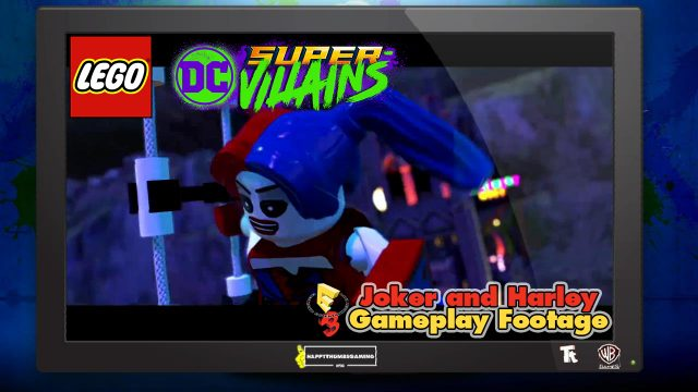 Lego DC Super-Villains: E3 Joker & Harley Gameplay – HTG
