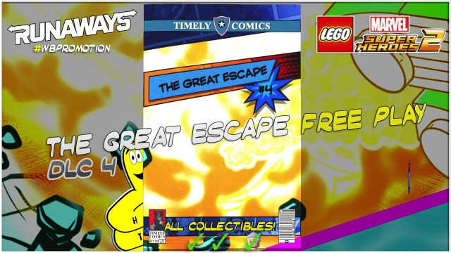 Lego Marvel Superheroes 2: The Great Escape (Runaways) DLC FREE PLAY – HTG