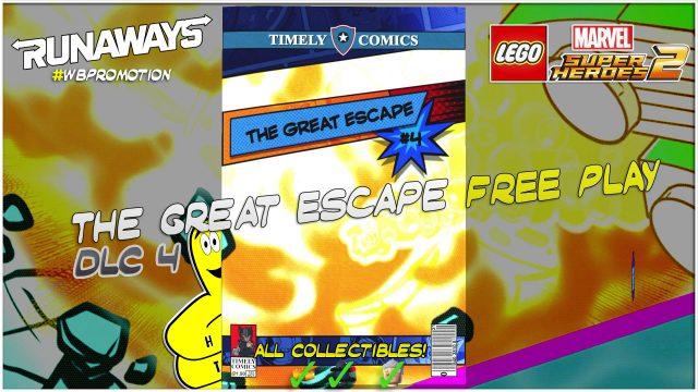 Lego Marvel Superheroes 2: The Great Escape (Runaways) DLC FREE PLAY – HTG