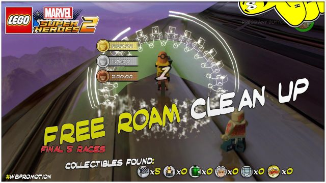 Lego Marvel Superheroes 2: FREE ROAM Clean Up – HTG