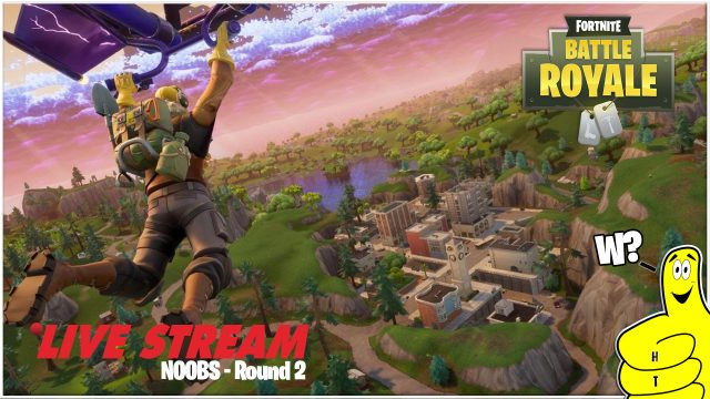 Fortnite: Noobs Round 2! – HTGtv