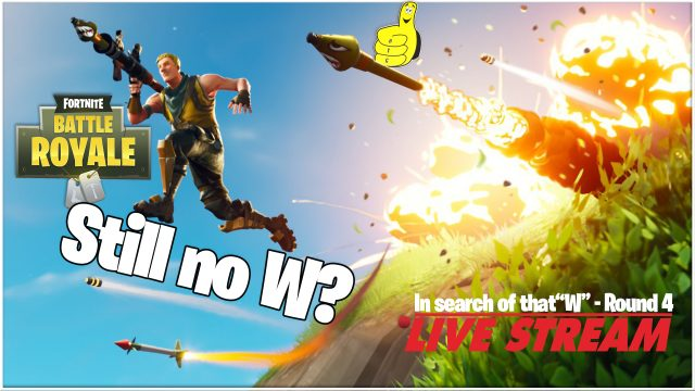 Fortnite: W or Bust! (4/13/18) – HTGtv