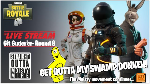 Fortnite Battle Royale: Get Outta My Swamp Donkeh!  (4/19/18) – HTGtv