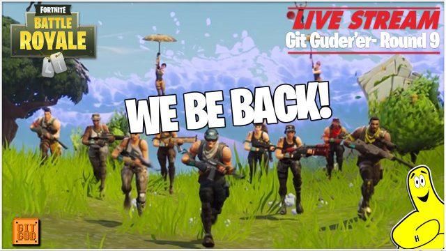 Fortnite Battle Royale: WE BE BACK  (4/23/18) – HTGtv