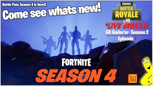 Fortnite Battle Royale: Git Guder'er Season 2 Ep 1  (5/1/18) – HTGtv