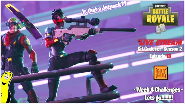 Fortnite Battle Royale: Week 4 Challenges LETS GO! (5/21/18) – HTGtv