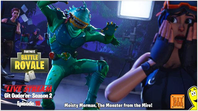Fortnite Battle Royale: Avoiding Moisty Merman!  (5/25/18) – HTGtv
