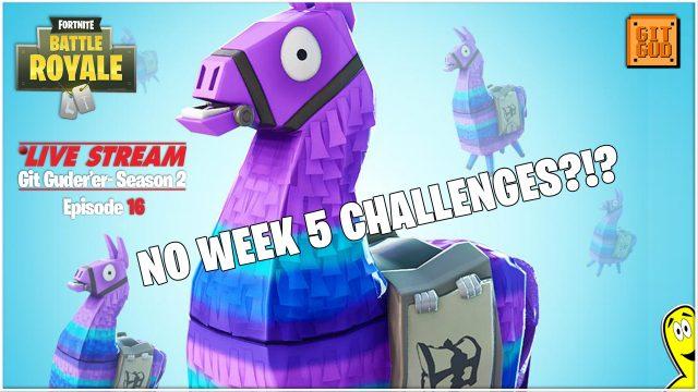 Fortnite Battle Royale: NO Week 5 Challenges!?  (5/29/18) – HTGtv