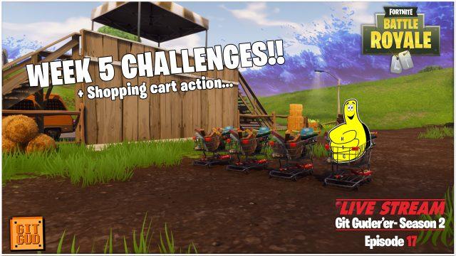 Fortnite Battle Royale: Week 5 Challenges!  (5/31/18) – HTGtv