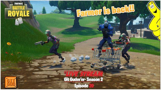 Fortnite Battle Royale: Farmer is Back!!  (6/6/18) – HTGtv