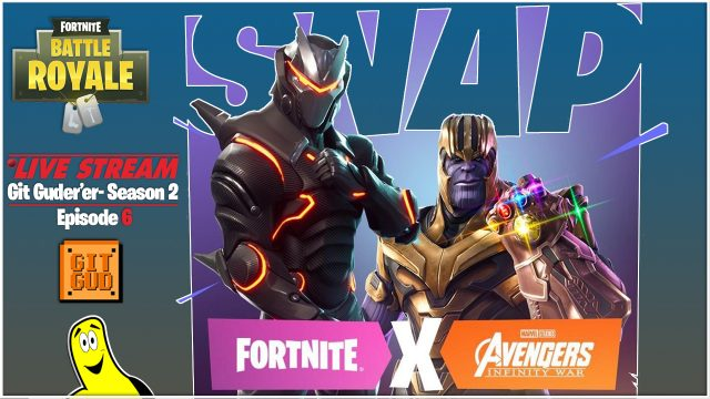 Fortnite Battle Royale: Git Guder'er Season 2 Ep 6 / Avengers Royale! (5/8/18) – HTGtv