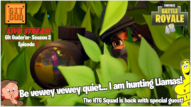 Fortnite Battle Royale: Git Guder'er Season 2 Ep 8 /HTG Squad and Special Guest! (5/10/18) – HTGtv