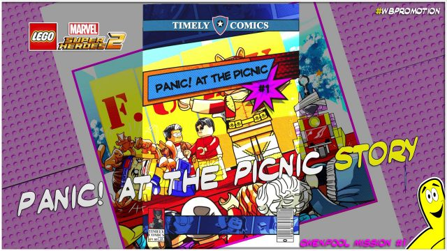 Lego Marvel Superheroes 2: Gwenpool Mission 1 / Panic at the Picnic STORY – HTG