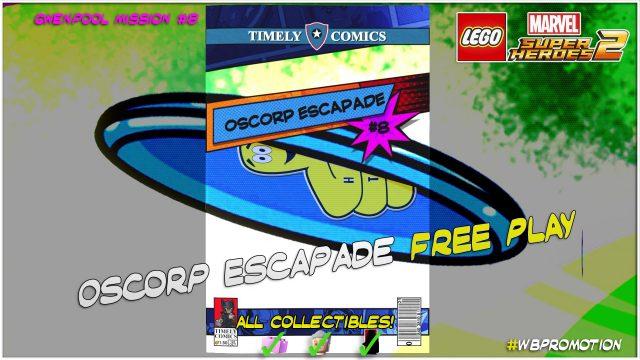 Lego Marvel Superheroes 2: Gwenpool Mission 8 / Oscorp Escapade FREE PLAY – HTG